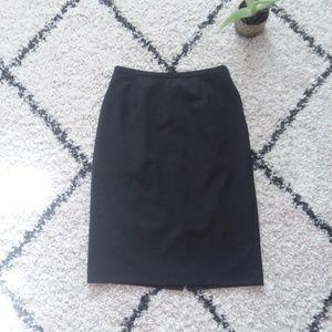 Dress gray pencil Skirt